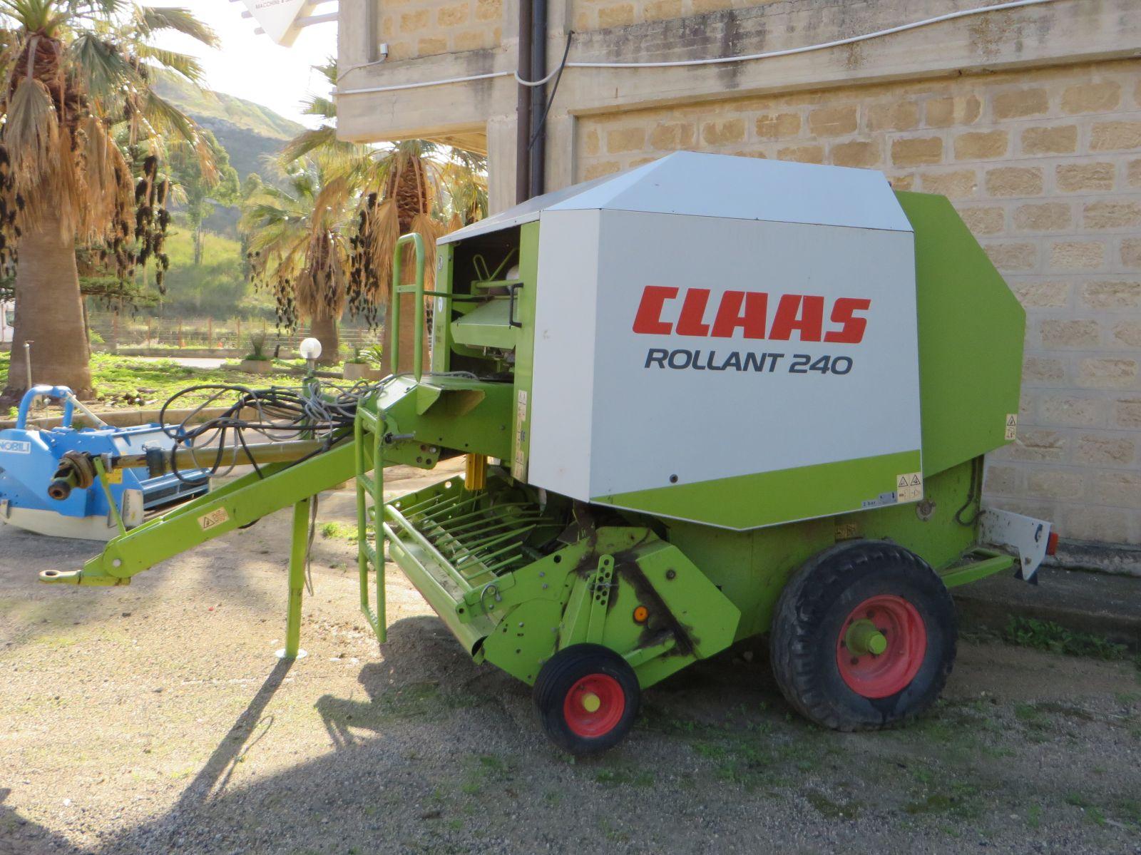 Rotopresse claas usate mulino elettrico per cereali for Attrezzi agricoli usati piemonte